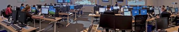 Testes do laboratório de tecnologia da informação.