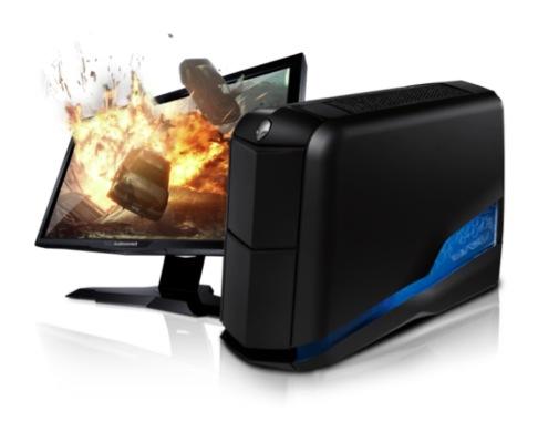 Alienware Aurora oferece suporte para 3D.