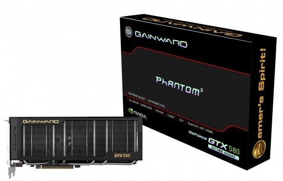 GeForce GTX 580: nova placa da Gainward.