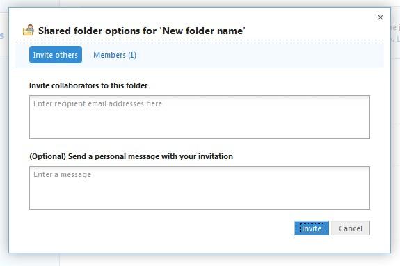 Compartilhe seus arquivos do Dropbox