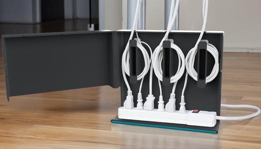 Organize os cabos com Plug Hub