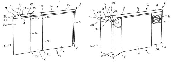 Uma das imagens da patente da Sony.