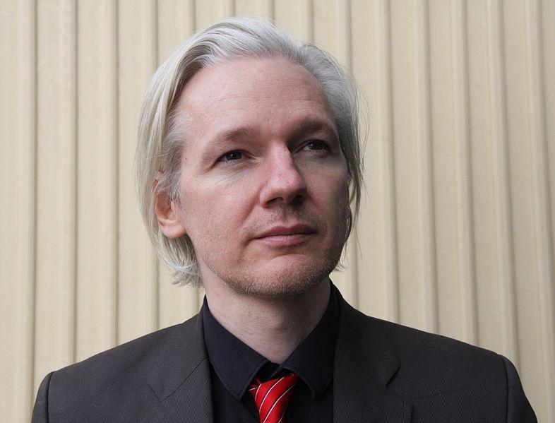 Julian Assange, da WikiLeaks