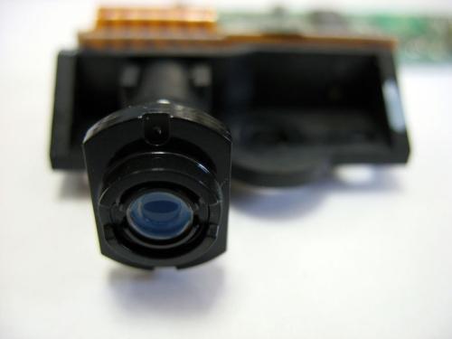 Laser desenha a imagem no cilindro
