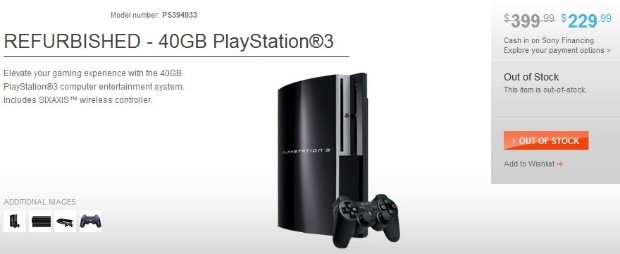 Playstation 3 Refurbished