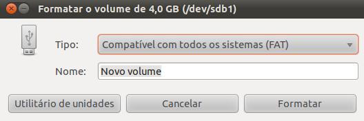 Formatar no Linux