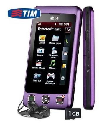 O celular da LG.