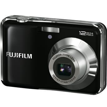 A câmera da Fujifilm.