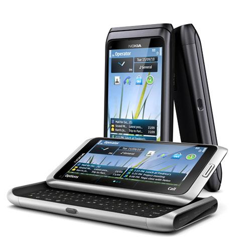 Modelo Nokia E7.
