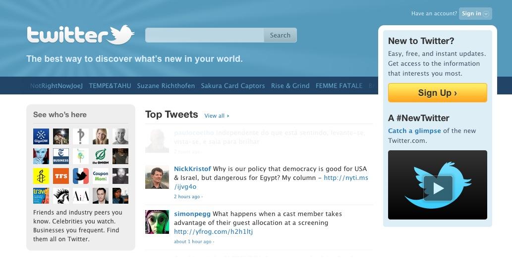 Twitter pode ser comprado por Google ou Facebook.