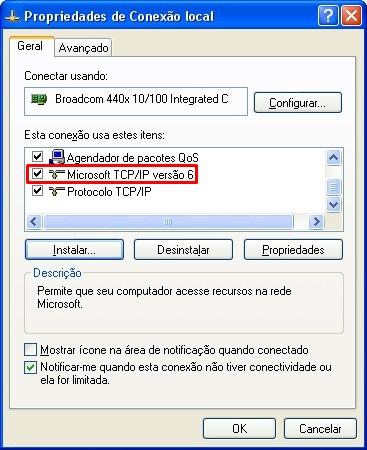Habilite o IPv6