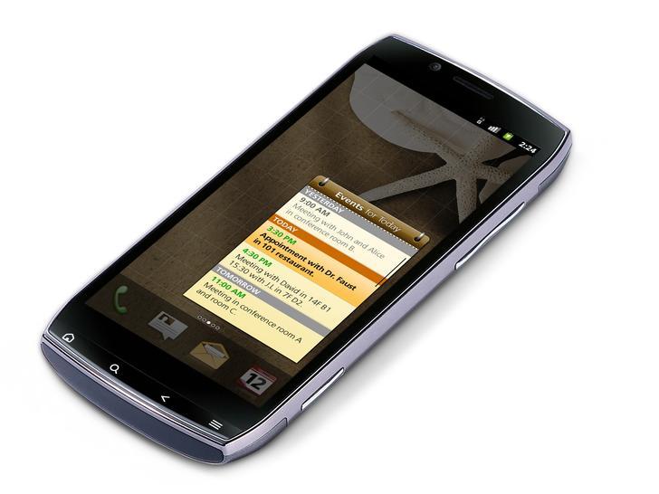 Novo smartphone da Acer