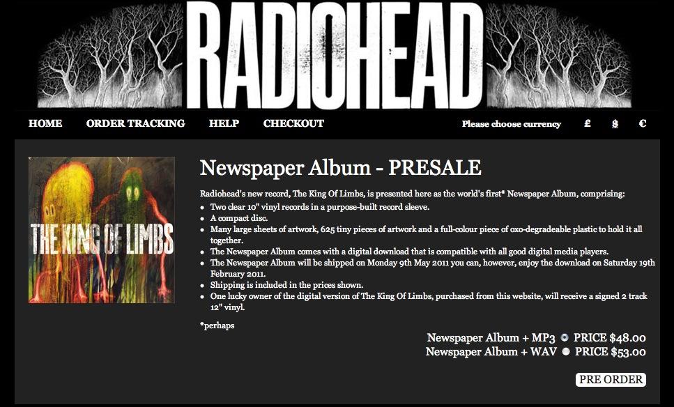 Pré-venda já disponível no site da banda.