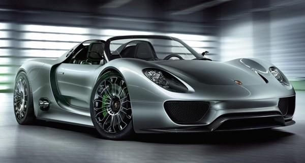 Modelo Porsche 918 Spyder: linha Boxter E ganhará carro completamente elétrico