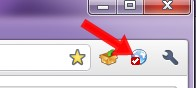 Clique no botão para acessar as configurações