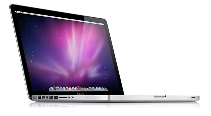 MacBook Pro em produção