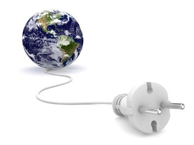 Conectando os mundos.