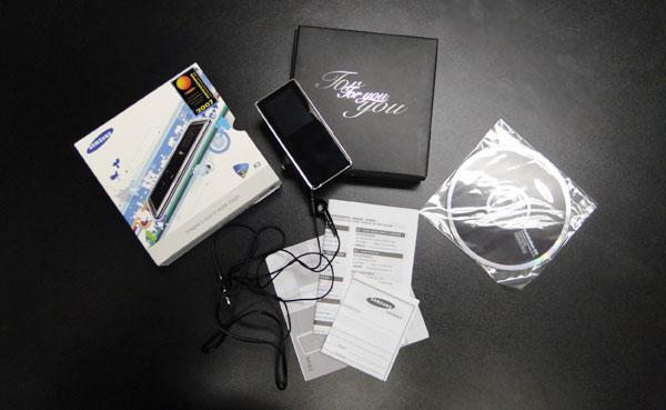 Embalagem, manuais e acessórios do K3