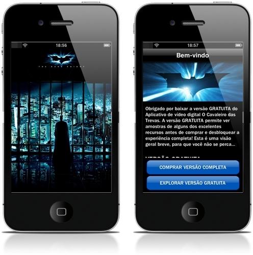 Sucesso de bilheteria, agora na App Store