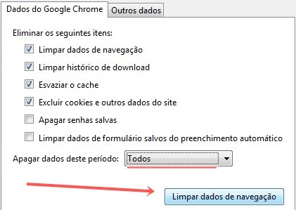 No Google Chrome.