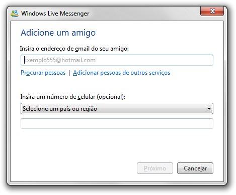 Sistema de buscas do MSN