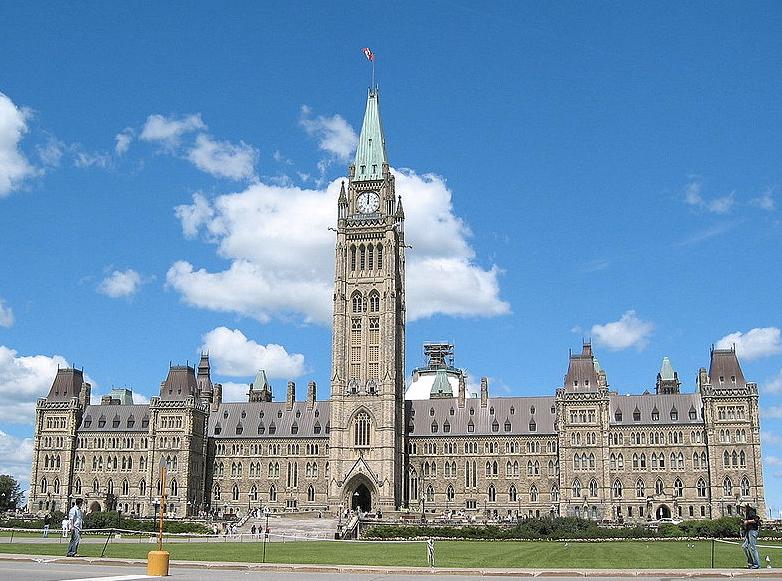 Prédio do parlamento, em Ottawa. Ministérios canadenses dizem ter sofrido ciberataques.
