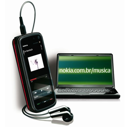 Nokia 5800 Comes With Music