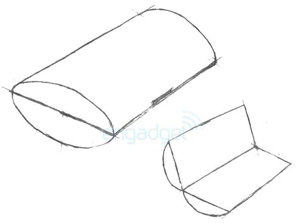 Imagem da patente da Sony