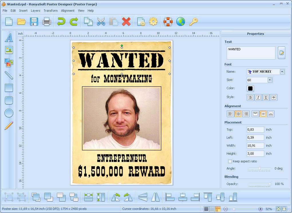 Poster Designer - Imagem 1 do software