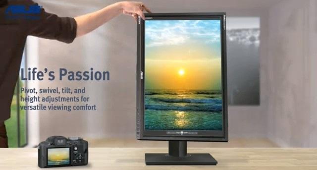 Novo monitor da Asus