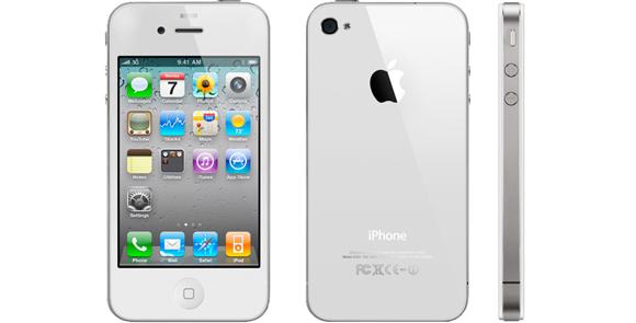 iPhone 4 na cor branca