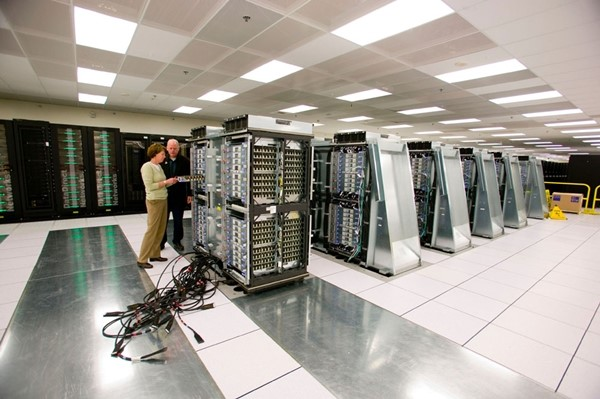 Instalação do supercomputador Dawn