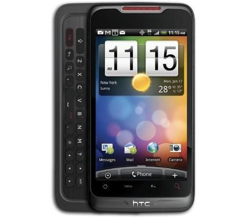 Visual do novo smartphone da HTC
