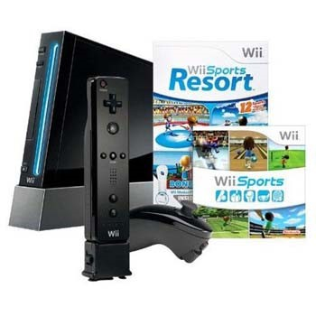 Conjunto Nintendo Wii