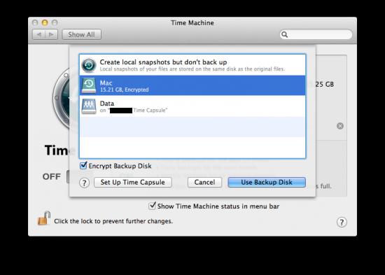 Time Machine, agora também sem HDs externos