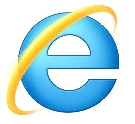 Logo do Internet explorer 9