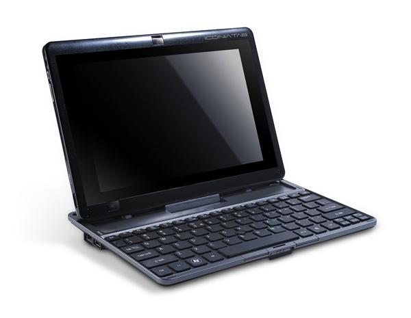 W500 equipado ao dock com teclado