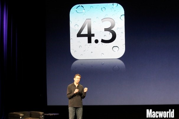 iOS 4.3 confirmado para 11 de março