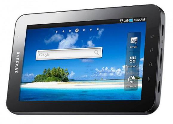 Galaxy Tab, da Samsung, outra opção disponível no Brasil