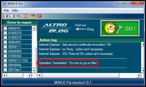 MSN E-Fix