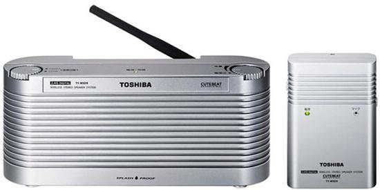 Toshiba TY-WSD9: pronto para o banho!