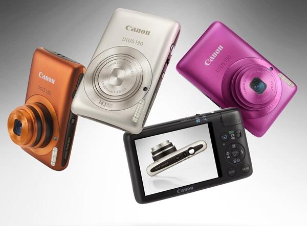 Câmeras compactas existem em diferentes tamanhos e cores