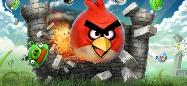 Angry Birds no Facebook