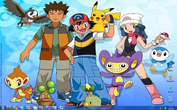 Desktop personalizado: Pokémon