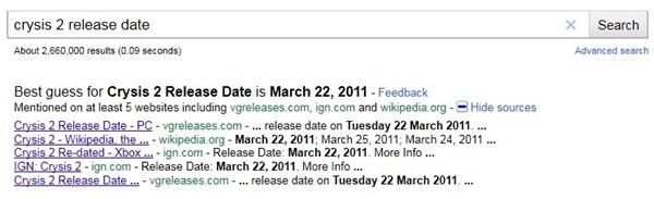 Novo recurso do Google dá palpite sobre data de lançamento de jogos e filmes