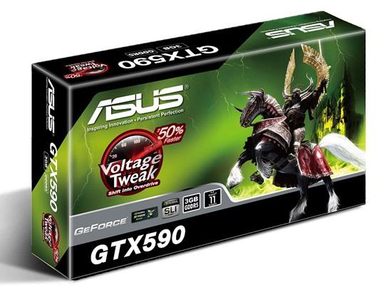 Versão da Asus da GeForce GTX 590