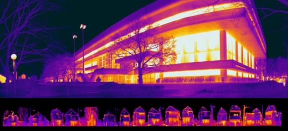 Imagens térmicas do MIT