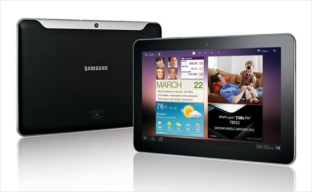 Visual dos novos tablets da Samsung