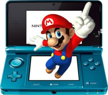 Visual do Nintendo 3DS