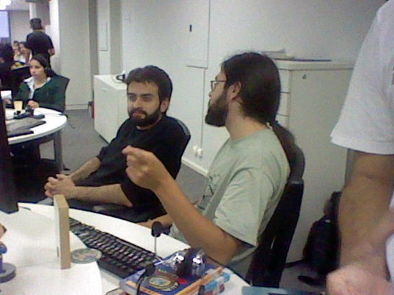 Imagem capturada com a câmera do 3DS